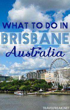14 Best Brisbane images | Australia travel, Brisbane australia, Travel