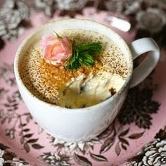 Microwave Cheesecake in A Mug. This looks & sounds dangerously fast.