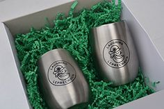 Drinking Glasses by Laughing Leprechaun Unbreakable Wine Glasses Insulated Cup Safe For Camping Picnics Boating Poolside Hot or Cold Drinks Set of 2 9 oz Capacity -- Continue to the product at the image link.