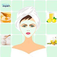 MASCĂ de BICARBONAT , ULEI de MĂSLINE și MIERE, ideală pentru TEN STRĂLUCITOR Efecte: -conferă strălucire tenului -bicarbonatul de sodiu este o pudră alcalină utilizată adesea pentru îngrijirea pielii, deoarece are efect antiinflamator și antibacterian -uleiul de măsline are efect emolient; are vitamina A și vitamina E utile în repararea leziunilor tenului -Preparare: -se amestecă într-un bol curat : 2 linguri bicarbonat de sodiu + 1 lingură ulei de măsline + 1 linguriță miere Exercises, Facial, Nutrition, Beauty, Vitamins, Beleza, Facial Care, Exercise Routines, Exercise Workouts