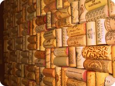 corks are cheap and easy ways to decorate!