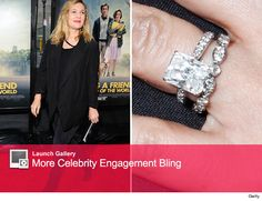 Newlywed Drew Barrymore Flashes Her Wedding Bling. Do you like?