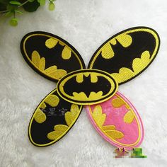 New to craftapplique on Etsy: Batman embroidered appliques cartoon fabric patch cotton patches batgirl iron on patch batgirl embroidered patch sew on patch 105.3CM A149 (2.20 USD)