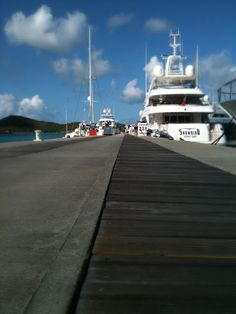 Docks of Yacht Haven Grande, St. Thomas, USVI