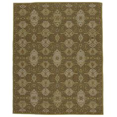 Hand-tufted Transitional Wool Area Rug (8' x 10') | Overstock™ Shopping - Great Deals on 7x9 - 10x14 Rugs