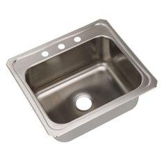 Elkay Celebrity DCR252210 Single Basin Drop In Kitchen Sink - 165241