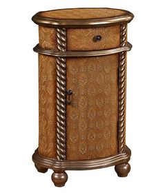 Another great find on #zulily! Yellow & Gold Accent Table #zulilyfinds