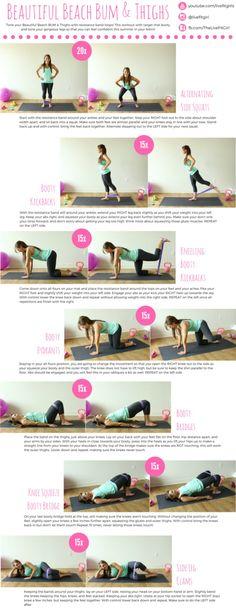 Beach Bum & Thighs Workout