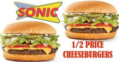 Sonic: 1/2 Price Cheeseburgers 11/22-16 + Free Sonic Slush Deal - http://couponsdowork.com/uncategorized/sonic-12-price-cheeseburgers-1122-16-free-sonic-slush-deal/