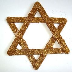 lolly stick star of david