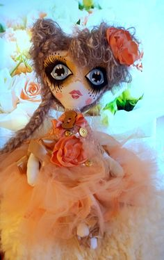 TootsieDOLL IULIA Princess Zelda, Dolls, Unique Jewelry, Handmade Gifts, Fictional Characters, Etsy, Vintage, Art, Baby Dolls