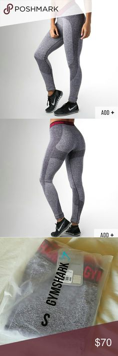 NWT GYMSHARK FLEX LEGGINGS Brand new with tags in package flex leggings from Gymshark. Marl/plum So comfortable and perfect for leg day!!! So flattering Size small Brand new Paid extra for international shipping Size out of stock No waiting weeks/Will ship asap if purchased **if interested, I will add an extra item of $10 or less in my closet for free with this order. Let me know** Gymshark Gym shark ❤ gymshark Pants