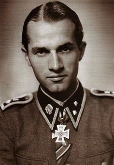 """August Zingel served with distinction with the 3rd SS Panzer Division """"Totenkopf"""" He won KC on 5/9.42 for leading a charge vs Soviet defensive line, knocking out numerous Machine gun bunkers, thus opening a gap for his men. He died in 2000."""