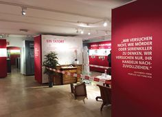 Tatort Burgenland – Exhibition Design by Rabold und Co.