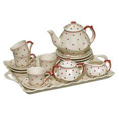 Tea with Friends children's tea set #teatime