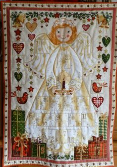 ADVENT ANGEL CALENDAR  Cute Angel Advent by DonnaleesTreasures, $24.50  And there will be more variety coming soon.