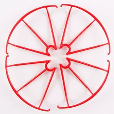 4Pcs Protection Frame for SYMA X5C / X5SC / X5SW RC Qaudcopters - RED