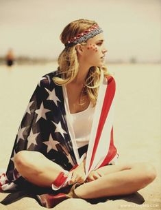American Flag Fashion / Independence day inspired fashion