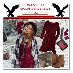 """Winter wanderlust// contest entry"" by orpitaazmiri ❤ liked on Polyvore featuring Michael Kors, American Eagle Outfitters, Madden Girl, NARS Cosmetics, contest, polyvorecommunity and contestentry"