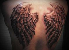 eagle wing back tattoos - Google Search