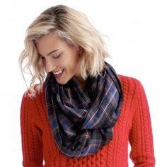 plaid scarf - Sole Society - Scarves & Wraps