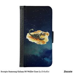 Scorpio Wallet Case for Samsung Galaxy S4, S5 or S6