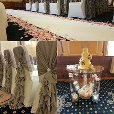 Golden Lion wedding ceremony by Eze Events (@EzeEvents) on Twitter #wedding #stirling #weddingstirling #bespoke #chairruffles