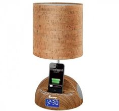 iBright myLamp Docking Station & Alarm Clock – $90