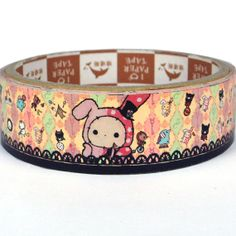Sanx paper deco tape  Sentimental Circus in by scrapbooksupply, $2.80