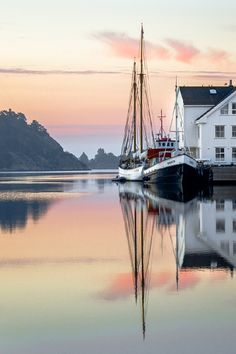 Morning reflection, Norway