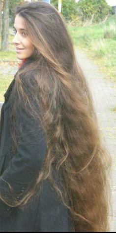 Beautiful Long Hair, Amazing Hair, Gorgeous Hair, Loose Hairstyles, Trendy Hairstyles, Super Long Hair, Long Locks, Shoulder Length Hair, Layered Cuts