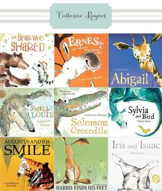 catherine rayner childrens books