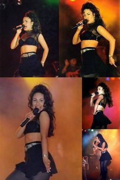 Selena Quintanilla defined what it is to be a superstar! Selena Quintanilla Perez, Outfit Pinterest, Selena Costume, Selena And Chris, Selena Selena, Divas, Role Models, My Idol, Style Icons