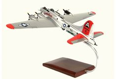 Desktop Model Airplane B-17G Boeing USAAF Aircraft Aviation Decor, United States Army, Nose Art, Model Airplanes, Paint Schemes, Desktop, Aircraft, Us Army, Aviation