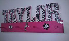 Zebra+Print+Bedroom | Zebra print hat rackzebra theme bedroom by ... | **Zebra Bedroom Deco ...