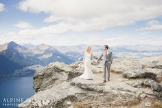 Cecil Peak, Queenstown Wedding - Photography by Alpine Image Co.