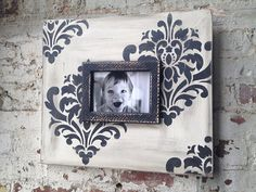 Delta Girl Distressed Frames: a black and white shabby affair Painting Frames, Painting On Wood, Delta Girl, Distressed Frames, Benjamin Moore Paint, Diy Frame, Framed Art, Picture Frames, Gallery Wall