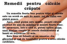 Remedii pentru calcaie crapate Beauty Care, Hair Beauty, Good To Know, Skin Care Tips, Body Care, Health And Beauty, Health Tips, Herbalism, Life Hacks