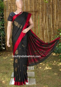BLACK SAREE photo