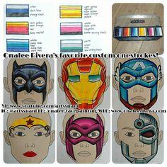Onalee Rivera one stroke hero Shark Face Painting, Superhero Face Painting, Face Painting Tips, Face Painting Designs, Body Painting, Face Painting Supplies, Animal Face Paintings, Fair Face, Boy Face