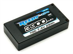 REEDY LIPO 3900MAH 70C 7.4V LP SHORTY PACK