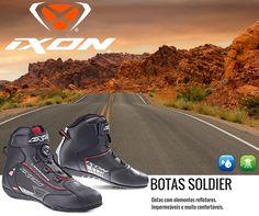 IXON | BOTAS IXON SOLDIER  #lusomotos #ixon #soldier #impermeável #viagem #moto #estilodevida #andardemoto #conforto #botas #refletores