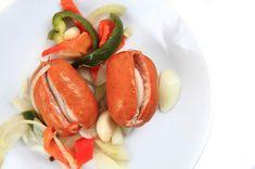 You Must Know: Utopenci s hořčicí a česnekem (CZ) Caprese Salad, Baked Potato, Potatoes, Baking, Ethnic Recipes, Food, Potato, Bakken, Essen
