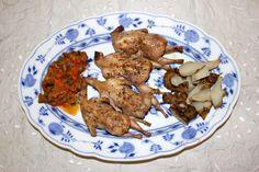 Wachteln Cooking, Ethnic Recipes, Food, Eggplants, Tomatoes, Peach, Food Food, Kochen, Baking Center