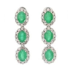These emerald earrings will go perfectly with your Easter outfit!