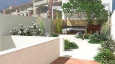 Studio Bellesi Giuntoli - Garden with pergola