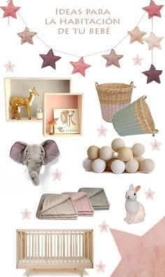 Ideas para decorar la habitación de tu bebe con Bel and Soph - Mamidecora.com