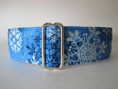 1.5 Martingale Collars Christmas Martingale by HuggableHound, $20.99