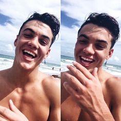 HIS SMILE IS SO CUTE OMG
