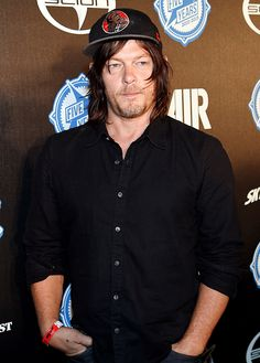 Norman Reedus attend the premiere party for Skybounds Entertainment's 'Air' during Comic-Con International 2015 at PETCO Park on July 10,2015